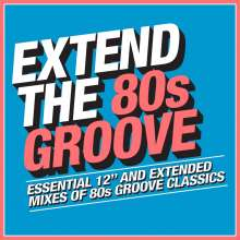 Extend The 80s: Groove, 3 CDs