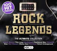 Rock Legends, 5 CDs