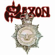 Saxon: Strong Arm Of The Law (White W/ Red & Black Splatter Vinyl), LP