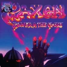 Saxon: Power & The Glory (Limited-Edition) (Blue & Purple Swirl Vinyl), LP