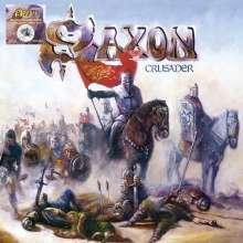 Saxon: Crusader (Limited Edition) (White, Black & Blue Splatter Vinyl), LP