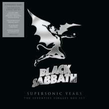 "Black Sabbath: Supersonic Years: The Seventies Singles Box Set (Limited-Edition), 10 Single 7""s"