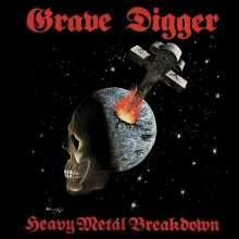 Grave Digger: Heavy Metal Breakdown (remastered) (Red Vinyl), 2 LPs
