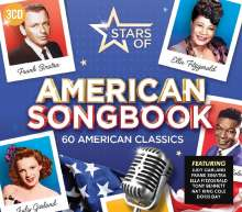 Stars Of American Songbook, 3 CDs