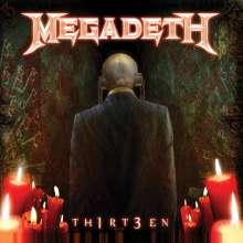 Megadeth: Th1rt3en (Mediabook), CD