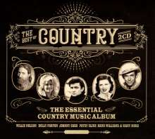 The Best Of Country (The Essential Country Music Album), 2 CDs
