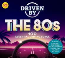Driven By The 80s: 100 Essential Driving Songs, 5 CDs
