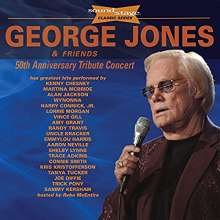 George Jones (1931-2013): 50th Anniversary Tribute Concert, 1 CD und 2 DVDs