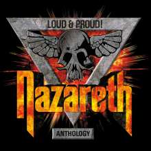 Nazareth: Loud & Proud! Anthology, 3 CDs