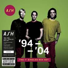 """Ash: '94 - '04: The 7'' Singles Box Set (Limited-Numbered-Edition), 10 Single 7""""s"""