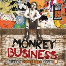 Monkey Business: The Definitive Skinhead Reggae Collection, 2 LPs