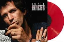 Keith Richards: Talk Is Cheap (30th Anniversary Edition) (Indie Retail Exclusive) (remastered) (180g) (Limited-Edition) (Red Vinyl), LP