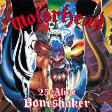 Motörhead: 25 & Alive: Boneshaker, 1 CD und 1 DVD