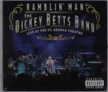 Dickey Betts: Ramblin' Man Live At The St. George Theatre, 1 CD und 1 Blu-ray Disc
