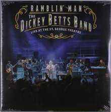 Dickey Betts: Ramblin' Man Live At The St. George Theatre, 2 LPs