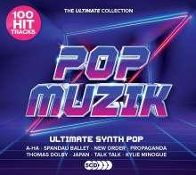 Pop Muzik: Ultimate Synth-Pop Anthems, 5 CDs