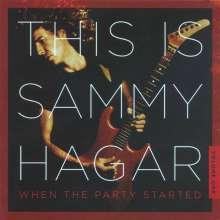 Sammy Hagar: This Is Sammy Hagar: When The Party Started Volume One, CD