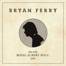 Bryan Ferry: Live At The Royal Albert Hall 1974, CD