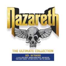 Nazareth: The Ultimate Collection, 3 CDs