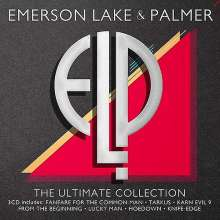 Emerson, Lake & Palmer: The Ultimate Collection, 3 CDs