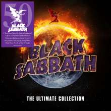 Black Sabbath: The Ultimate Collection (Limited 50th Anniversary Edition) (Gold Vinyl), 4 LPs
