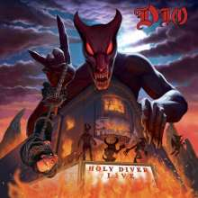 Dio: Holy Diver Live (180g) (Limited Edition), 3 LPs