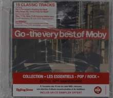 Moby: Go: The Very Best Of Moby (10th Anniversary BMG), 2 CDs und 1 DVD