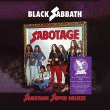 Black Sabbath: Sabotage (Super Deluxe Box Set), 3 CDs und 1 Single-CD