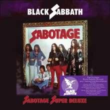 """Black Sabbath: Sabotage (180g) (Super Deluxe Box Set), 4 LPs und 1 Single 7"""""""