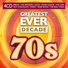 Greatest Ever Decade: The Seventies, 4 CDs