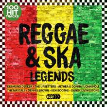 Reggae & Ska Legends, 5 CDs