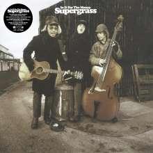 """Supergrass: In It For The Money (2021 Remaster) (LP: 180g Black Vinyl & 12"""": 140g White Vinyl), 1 LP und 1 Single 12"""""""
