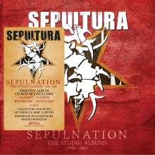 Sepultura: Sepulnation: The Studio Albums 1998 - 2009, 5 CDs