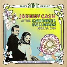 Johnny Cash: Bear's Sonic Journals: Johnny Cash At The Carousel Ballroom, April 24, 1968, 2 LPs
