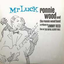 Ron (Ronnie) Wood: Mr. Luck - A Tribute To Jimmy Reed: Live At The Royal Albert Hall (Limited Indie Exclusive Edition) (Blue Vinyl), 2 LPs