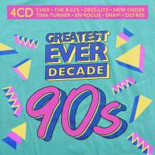 Greatest Ever Decade: The Nineties, 4 CDs