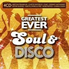Greatest Ever Soul & Disco, 4 CDs