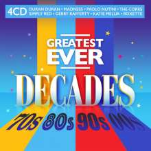 Greatest Ever Decades: 70s, 80s, 90s, 00s, 4 CDs