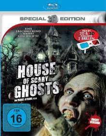 House of Scary Ghosts (Blu-ray), Blu-ray Disc