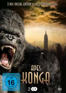 Apes - Konga Metallbox-Edition, DVD
