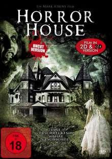 Horror House 3D, DVD