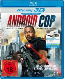 Android Cop (3D Blu-ray), Blu-ray Disc
