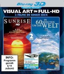 In 60 Minuten um die Welt / Sunrise (3D Blu-ray), Blu-ray Disc