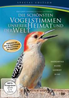 Die schönsten Vogelstimmen unserer Heimat und Welt, DVD