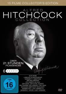 Alfred Hitchcock Collection (15 Filme auf 6 DVDs), 6 DVDs