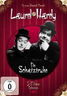 Laurel & Hardy: Die Schatztruhe (5 Filme auf 1 DVD), DVD
