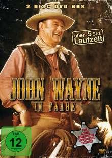John Wayne in Farbe, 2 DVDs