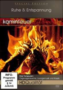 Kaminfeuer in HD, DVD