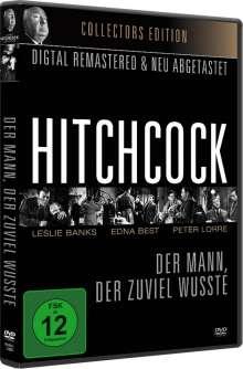 Alfred Hitchcock: Der Mann, der zuviel wusste (1934) (OmU), DVD