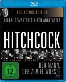 Alfred Hitchcock: Der Mann, der zuviel wusste (1934) (OmU) (Blu-ray), Blu-ray Disc